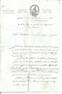 Très Belle Lettre à Entête Du Trésor Public. 20 Pluviose An11 - Département De Liamone (Corse) - 1792-1815: Dipartimenti Conquistati