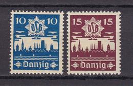 Danzig - 1937 - Michel Nr. 267/268 - Ungebr. - Danzig