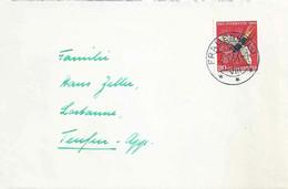 Brief  Frauenfeld - Teufen  (PJ Frankatur)           1956 - Briefe U. Dokumente