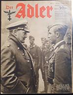 DER ADLER Original Vintage German Magazine - 5. Guerras Mundiales