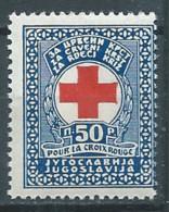 Yougoslavie Bienfaisance YT N°1 Croix-Rouge Neuf ** - Bienfaisance