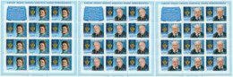 Russia Russland Russie 2011 - St.Andrew Order's Owners ( History, Music, Medicine), 3 Sheets With Labels MNH ** - Ongebruikt