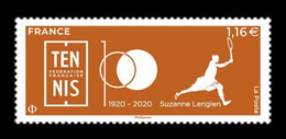 France 2020 Mih. 7757 French Tennis Federation. Suzanne Lenglen MNH ** - Unused Stamps