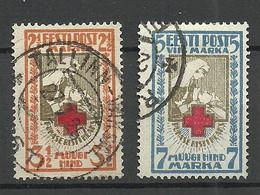 Estland Estonia 1922 Michel 29 - 30 A O - Estland