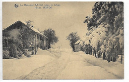 [ LIE 1 ]   Barraque Michel    --    (  3  )     Sous La Neige, Hiver 1925-26 - Bullange - Buellingen