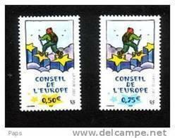 1998-N° 126/127** CONSEIL DE L'EUROPE - Nuevos
