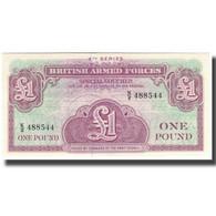 Billet, Grande-Bretagne, 1 Pound, KM:M36a, SPL - Forze Armate Britanniche & Docuementi Speciali