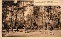 Forêt De BORD (Louviers) - La Chasse à Courre - Le Départ De La Chasse - Ohne Zuordnung