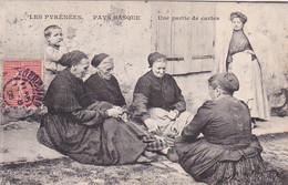 64 -- Pays Basque -- Les Pyrénées -- Une Partie De Cartes -- 5 Femmes Et Un Enfant - Sin Clasificación