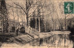 Thématiques 66 Pyrénées Orientales Vernet Les Bains Le Parc Bords Du Lac Ecrite Timbre Cachet 1912 - Sonstige Gemeinden