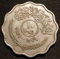 IRAQ - IRAK - 10 FILS 1959 ( 1379 ) - KM 121 - Iraq