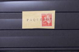 FRANCE - Griffe Paquebot Sur Type Paix 50ct  - L 75900 - 1921-1960: Période Moderne
