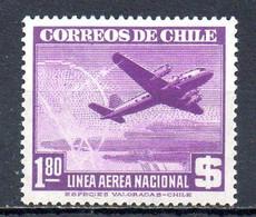 CHILI. PA 115 De 1946-50. Avion En Vol. - Flugzeuge