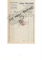 70 - Haute-saône - MELISEY - Facture CHALIMON - Quincaillerie, Parapluies, Fourneaux, Etc - 1933 - REF 173B - 1900 – 1949