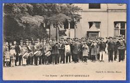 """CPA 76 LE PETIT QUEVILLY - """"La Diane"""" 1923 - Fanfare - Le Petit-quevilly"""