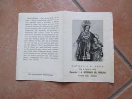 S.ANNA Parrocchia S.M. Incoronata Del Principio Torre Del Greco N.3 Differenti - Devotion Images