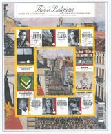 COB  BL 175  (°)   Oblitération Premier Jour - Libretti 1962-....