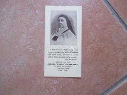 Serva Di Dio Madre Maria Giuseppina Di Gesù Crocifisso Carmelitana Scalza Ponti Rossi Napoli - Devotion Images