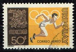 Uruguay 1969,Michel# 1133 O  Olympische Sommerspiele 1968 - Mexiko-Stadt - Uruguay