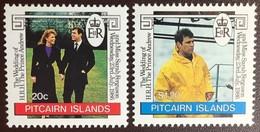 Pitcairn Islands 1986 Royal Wedding MNH - Pitcairneilanden