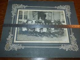 Bomerée Montigny-le-Tilleul Photo De Classe 1912 17x12 Hors Passe Partout - Sonstige