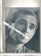 Vintage / Programm Old French Theater // Programme Theatre Cinema 1961 Charles AZNAVOUR - Programma's