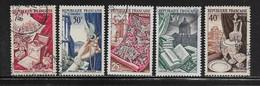 FRANCE  ( FR5 - 175 )  1954  N° YVERT ET TELLIER  N° 970/974 - Used Stamps