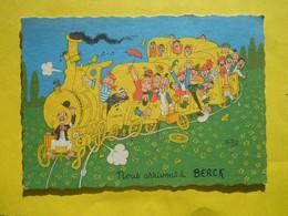 Berck ,illustrateur Dubout - Berck