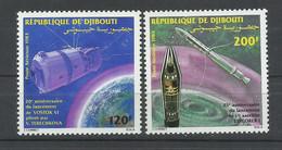 DJIBOUTI  YVERT  AEREO   193/94       MNH  ** - Gibuti (1977-...)