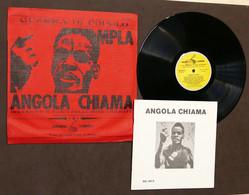 LP Disco 33 Giri - Archivi Sonori - MPLA Angola Chiama - 1970 - Collezioni