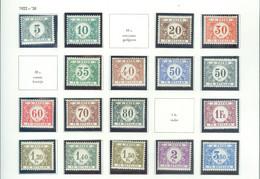 TX 32-48 Côte 20€ - Stamps
