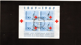 1963 Svizzera - Cent. Croce Rossa Int. - Blocks & Sheetlets & Panes
