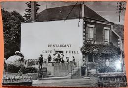 "CARTE - SAINT PERE Près VEZELAY - 89 - HOTEL RESTAURANT "" A LA RENOMMEE "" SCAN RECTO/VERSO-12 - Sonstige Gemeinden"