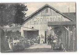 """CPA 25 Montbéliard - Auto-garage Atelier De Réparations """"Continental"""" - Montbéliard"""