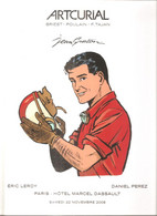Jean GRATON - Catalogue ARTCURIAL Vente Enchères Dessins Originaux (état Luxe Et Avec La Housse), Michel VAILLANT - 2008 - Altri Autori