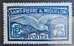 ST. PIERRE ET MIQUELON 1909 - Canceled - YT 84 -25c - Used Stamps