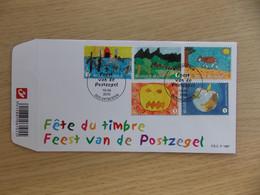 First Day Cover 2010 België Fête Du Timbre / Feest V/d Postzegel     FDC P 1687 - 2001-10