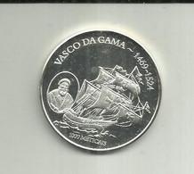 1000 Meticáis 2004 Moçambique (Vasco Da Gama) Silver - Mozambique