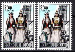 1593** V2  Points Bleu Après Aat  -  Neuf Sans Charnières. - Abarten (Katalog Luppi)