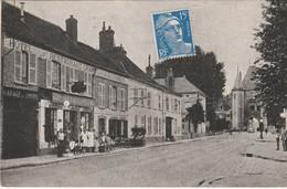 N°8018 R -cpsm Villeneuve Sur Yonne -hôtel Du Dauphin- - Villeneuve-sur-Yonne