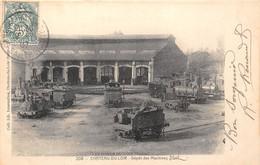 72-CHÂTEAU-DU-LOIR- DEPÔT DES MACHINES - Chateau Du Loir