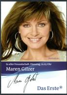 E3356 - TOP Maren Gilzer - Orig Autogramm Autogrammkarte - Autografi