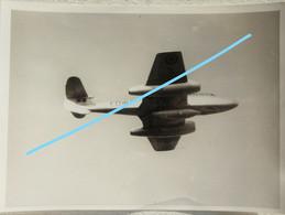 Photox3 Force Aérienne Luchtmacht Belgian Air Force Post WW2 Gloster Meteor Fairchild C119 Stampe Vertongen SV4 Avion - Aviazione
