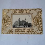 Gent - Gand / Souvenir De Belgique 1914 - 1915  ( Relief - Prage - Embossed) 19?? - Gent