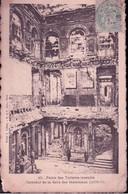 445 LA COMMUNE DE PARIS 1871 PALAIS DES TUILERIES INCENDIE - INTERIEUR DE LA SALLE DES MARECHAUX - Otros