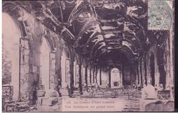 445 LA COMMUNE DE PARIS 1871 LE CONSEIL D'ETAT INCENDIÉ - VUE INTERIEURE DU GRAND SALON - Otros