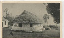 ÎLE WALLIS OCÉANIE : Une Case Indigène Servant De Grand Séminaire - Wallis And Futuna