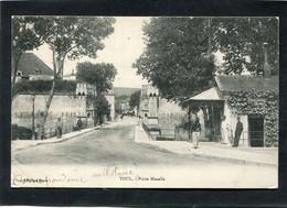 CPA - TOUL - Porte Moselle, Animé - Cachet Du 33è Régt Territorial D'Infanterie Au Verso - Toul