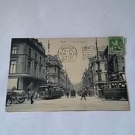 Gent - Gand / Rue De Flandre (fraaie Tram) 1913 - Gent