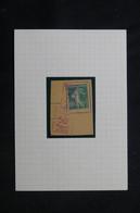 FRANCE - Affranchissement Mécanique Sur Type Semeuse 10ct Sur Fragment - L 75995 - 1921-1960: Période Moderne